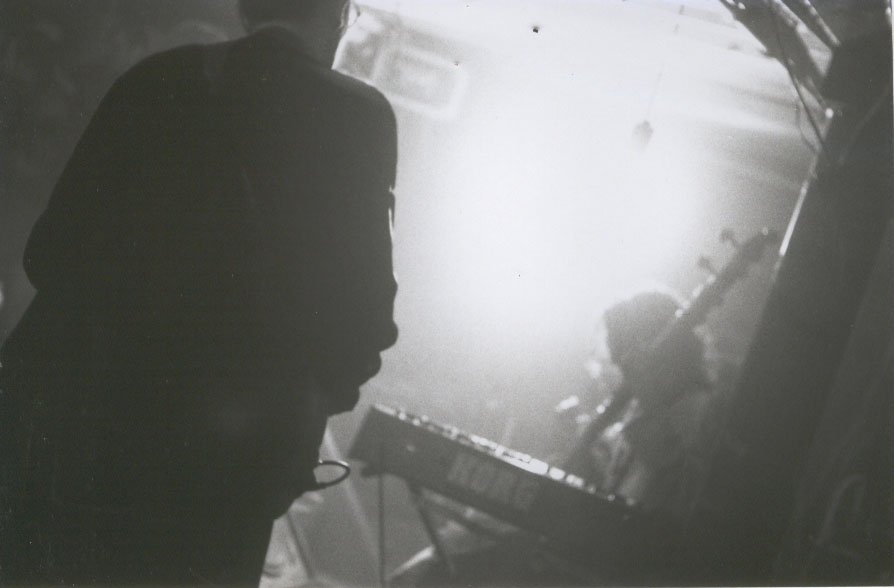 Timeshard band performing in 1994